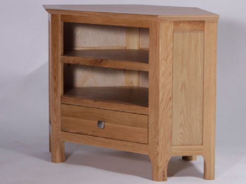 Kingsley Oak Corner TV Unit